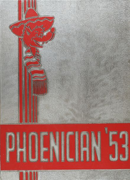 1953 Phoenix Union High School Yearbook Cover