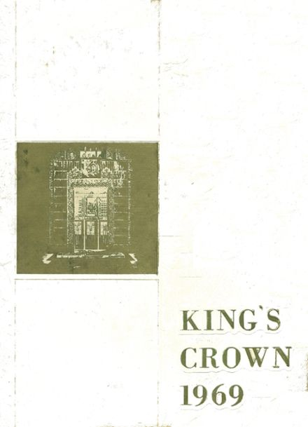 1969 Rufus King High School Yearbook Cover