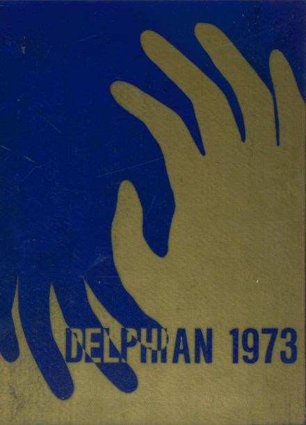 1973 Paxon High School Yearbook Cover