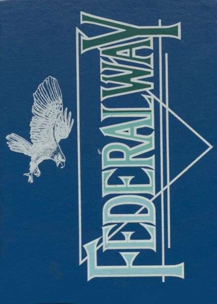 1990 Federal Way High School Yearbook Cover