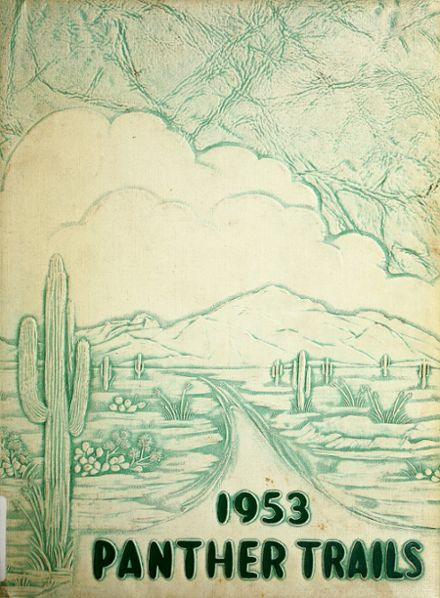 1953 Amphitheater High School Yearbook Cover