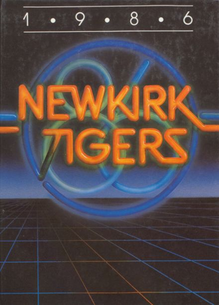 1986 Newkirk High School Yearbook Cover
