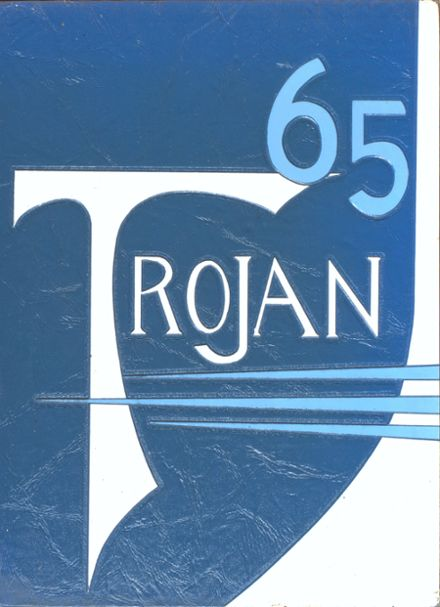 1965 Ribault High School Yearbook Cover