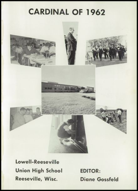 1962 Reeseville High School Yearbook Page 5