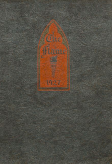1927 Casey-Westfield High School Yearbook Cover