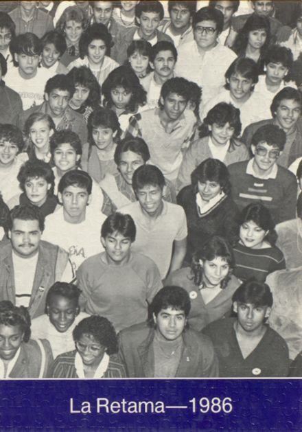 1986 Wheatley High School Yearbook Cover