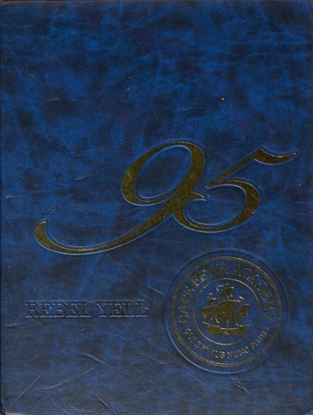 1995 Cape Fear Academy Yearbook Cover