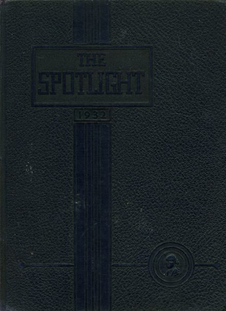 1932 Griffin High School Yearbook Cover