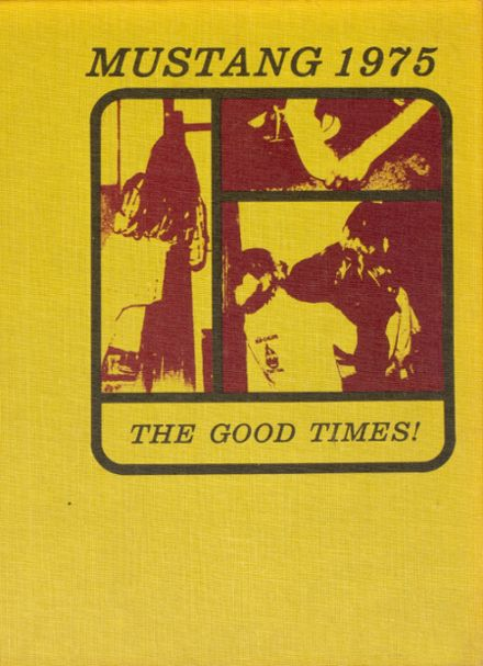 1975 Davis County Community High School Yearbook Cover