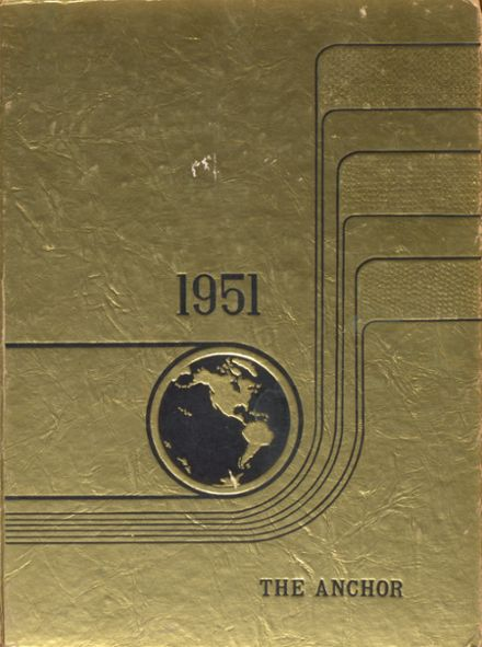 1951 Johnsville High School Yearbook Cover