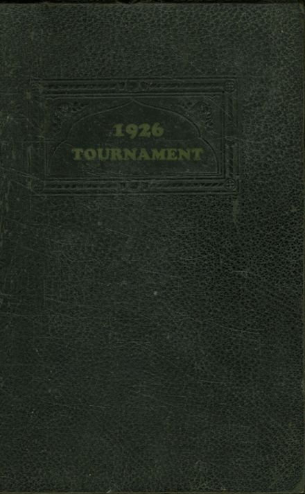 1926 West Winfield High School Yearbook Page 1