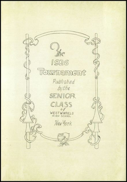 1926 West Winfield High School Yearbook Page 5