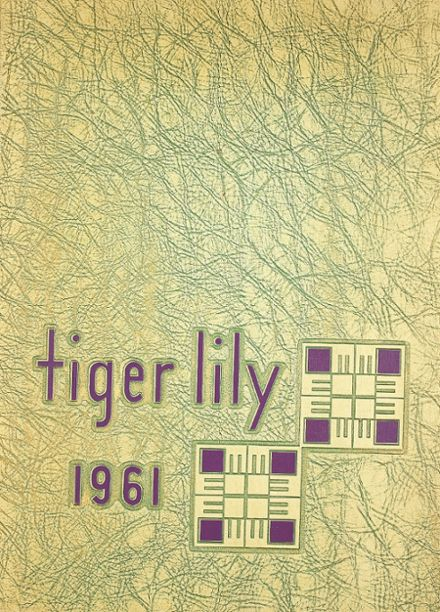 1961 Port Allegany High School Yearbook Cover