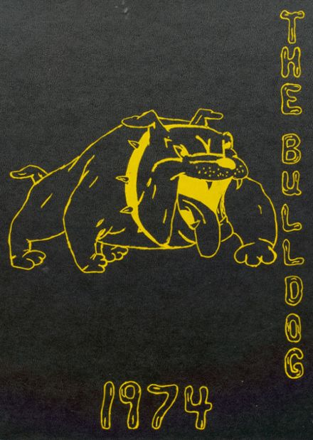 1974 Maysville High School Yearbook Cover