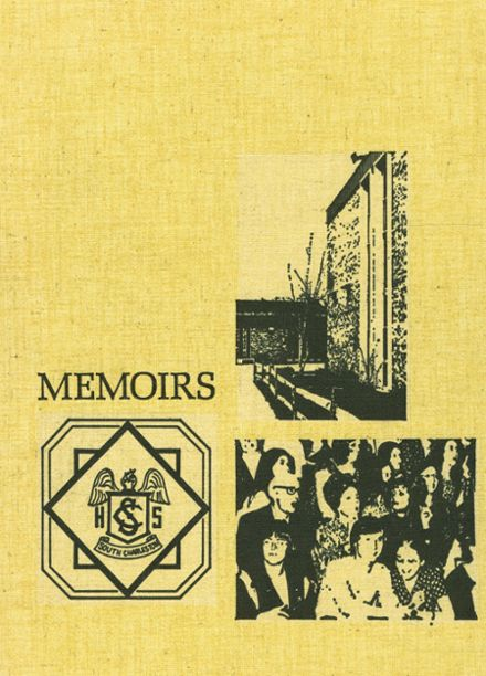 1973 South Charleston High School Yearbook Cover