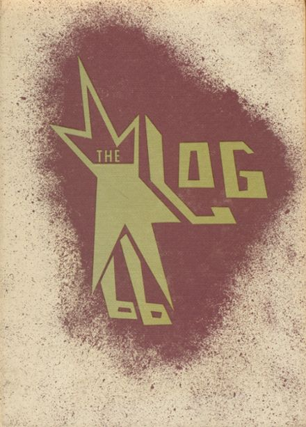 1966 Williamson High School Yearbook Cover