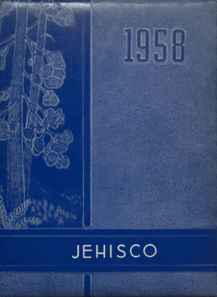 1958 Jefferson Township High School Yearbook Cover