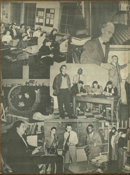 1951 George Washington High School Yearbook Page 2