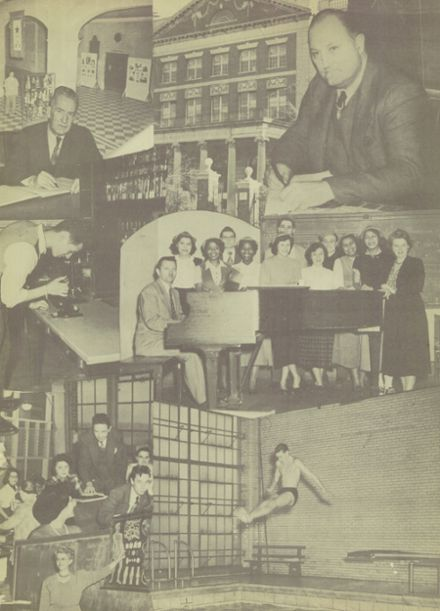 1951 George Washington High School Yearbook Page 3