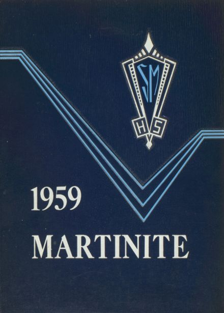 1959 St. Martin's High School Yearbook Cover