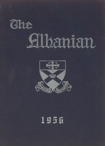 1956 St. Albans High School Yearbook Cover
