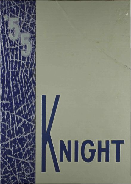 1955 McCallum High School Yearbook Cover