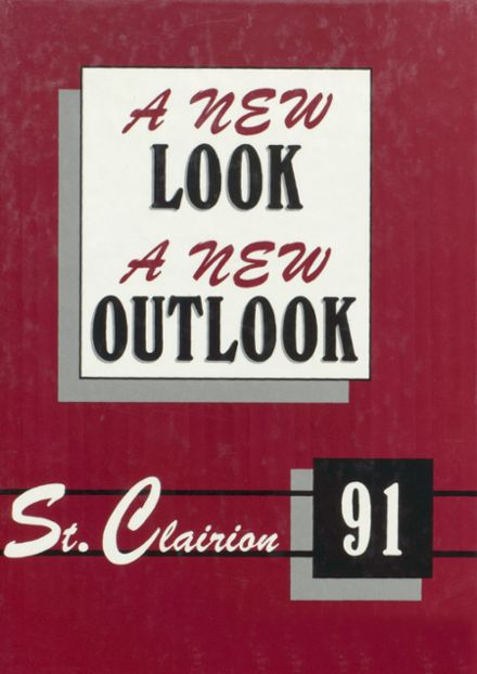1991 St. Clair County High School Yearbook Cover