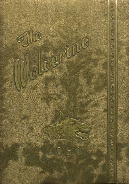 1950 Holdenville High School Yearbook Cover