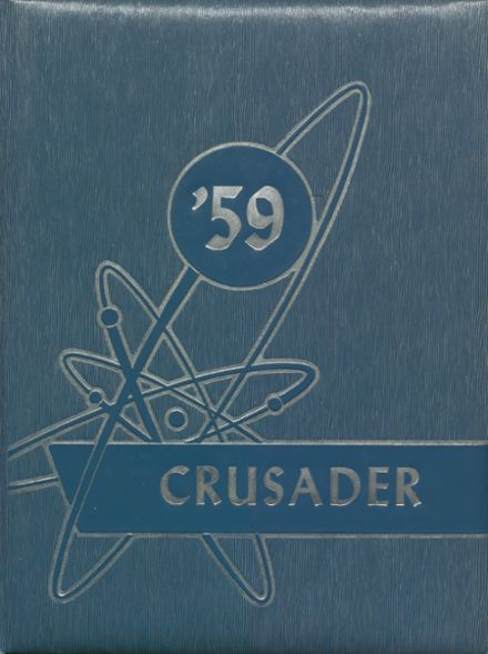1959 St. Agnes Academy Yearbook Cover