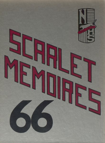 1966 Twin Valley North High School Yearbook Cover