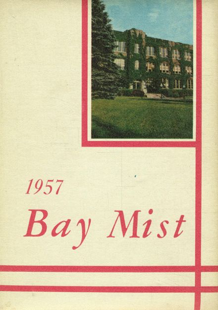 1957 South Milwaukee High School Yearbook Cover
