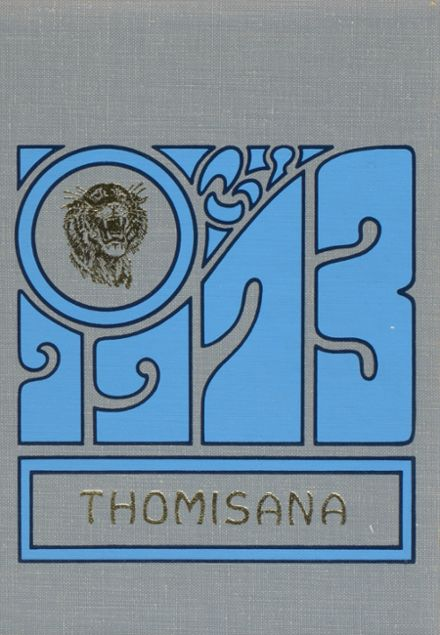1973 Thomasville High School Yearbook Cover