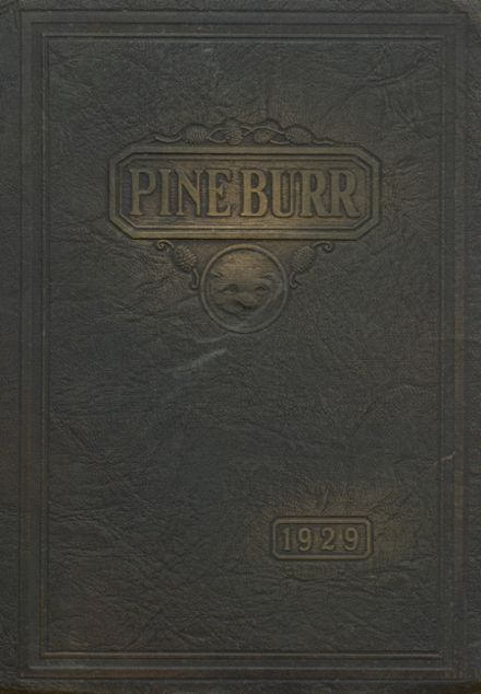 1929 Weiser High School Yearbook Cover