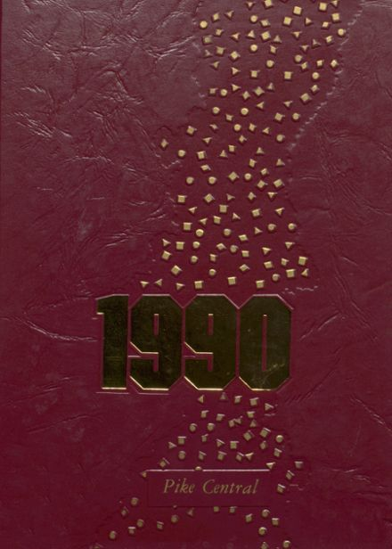 1990 Pike Central High School Yearbook Cover