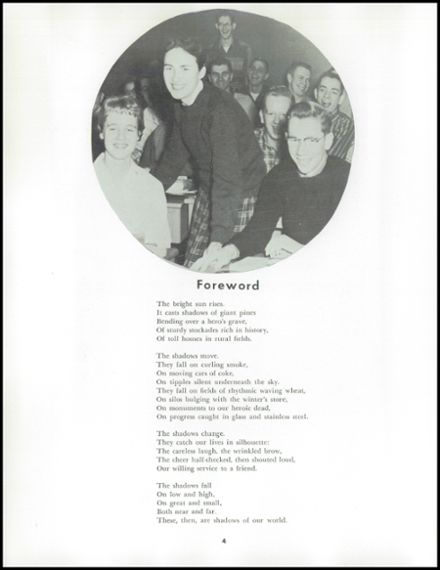 1958 Uniontown High School Yearbook Page 8