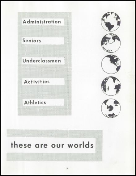 1958 Uniontown High School Yearbook Page 9