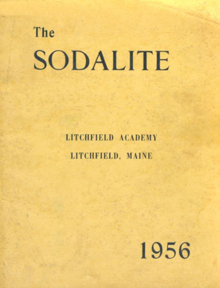 1956 Litchfield Academy Yearbook Cover