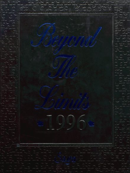 1996 Cadott High School Yearbook Cover