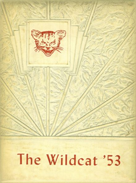 1953 Whitehouse High School Yearbook Cover