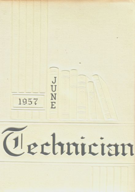 1957 West Technical High School Yearbook Cover