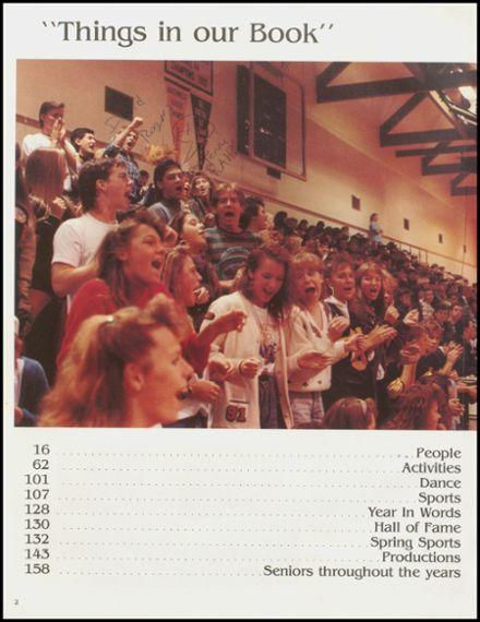 1991 Arlington High School Yearbook Page 6