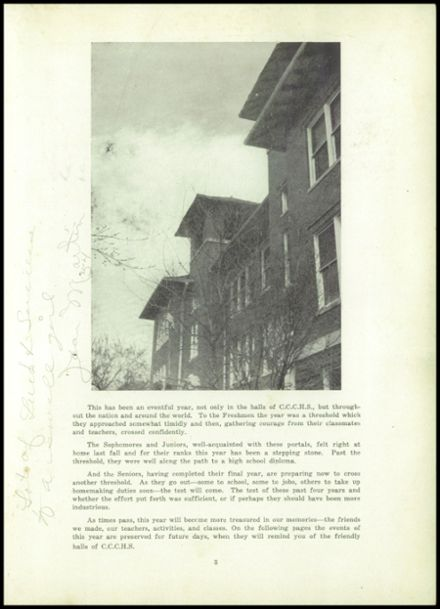 1952 Clay Center High School Yearbook Page 7