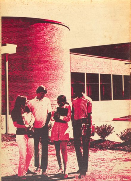 1973 Manor High School Yearbook Cover