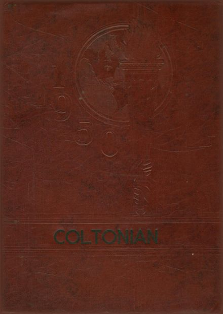 1950 Colton-Pierrepont High School Yearbook Cover