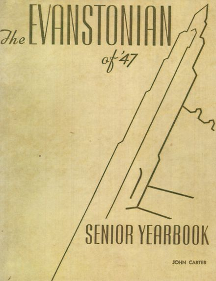 1947 Evanston Township High School Yearbook Cover