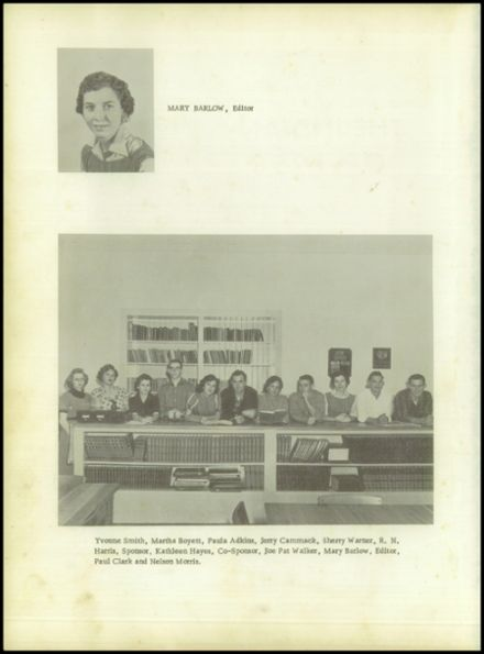 1958 Pineland High School Yearbook Page 4