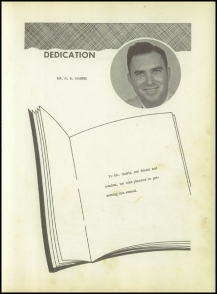 1958 Pineland High School Yearbook Page 5