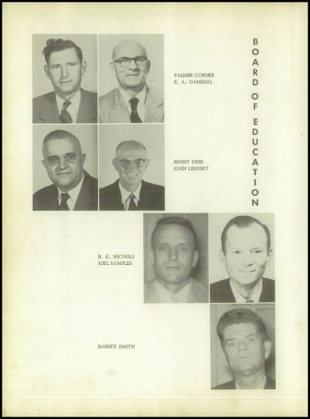 1958 Pineland High School Yearbook Page 8