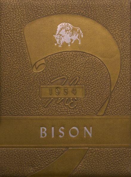 1954 Cross Plains High School Yearbook Cover