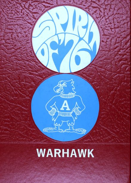1976 Arrowhead High School Yearbook Cover